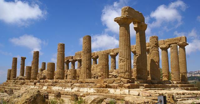 Il Tempio di Hera Lacinia (Giunone)