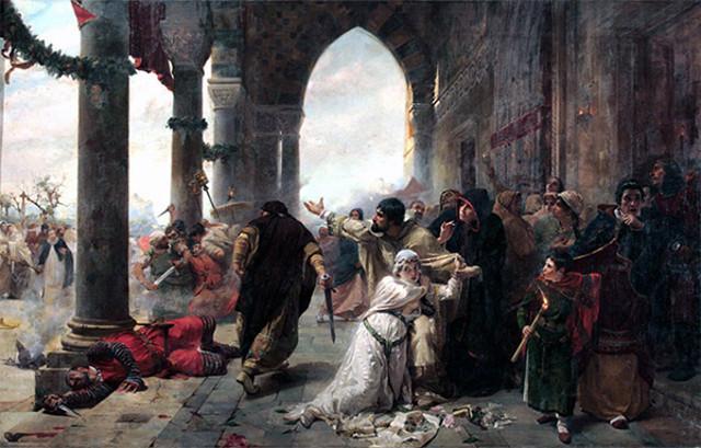 """""""I Vespri siciliani"""", Erulo Eroli (1854 - 1916)"""