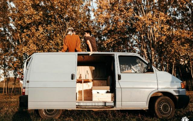 Per una vacanza veramente alternativa, un camper homemade!