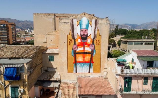 Palermo sotto l'egida di Sant'Erasmo...