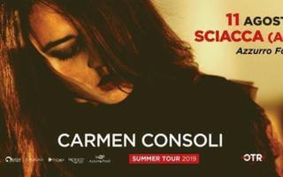 Carmen Consoli Summer Tour 2019