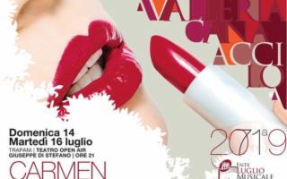 La Carmen di Bizet, apre la 71a stagione lirica dell'Ente Luglio Musicale Trapanese