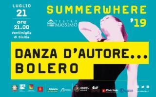 La ''Danza D'Autore... Bolero'' del Teatro Massimo di Palermo