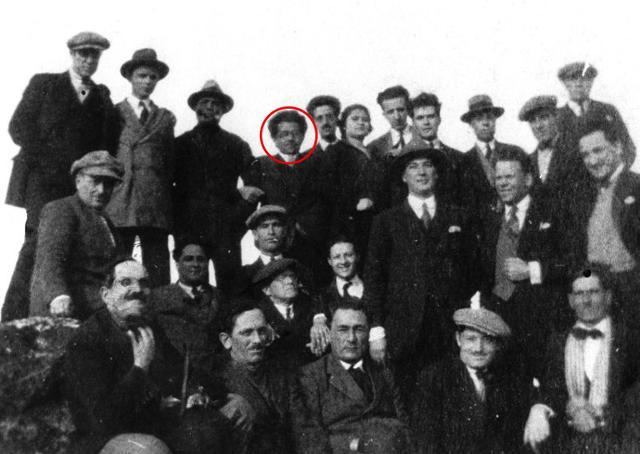 Antonio Gramsci a Ustica nel 1926