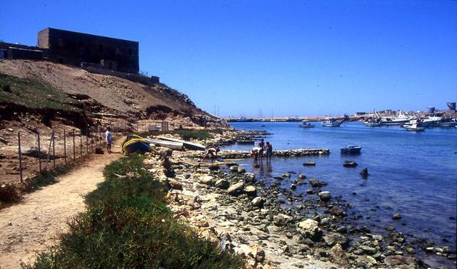 Cala Salina, Lampedusa