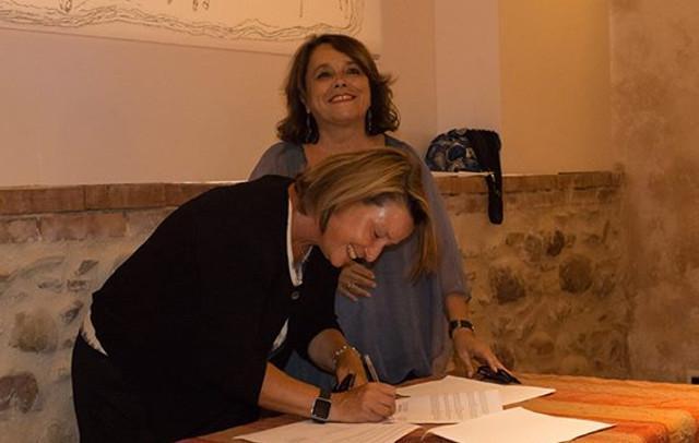 Elena Mango e Francesca Spatafora
