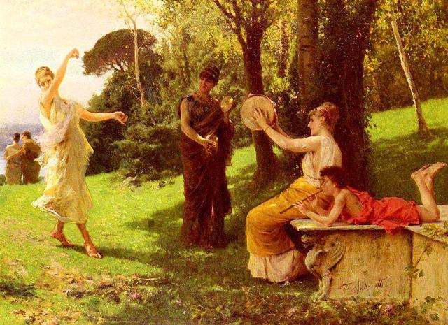 """""""La Danza"""", Federico Andreotti (1847-1930)"""