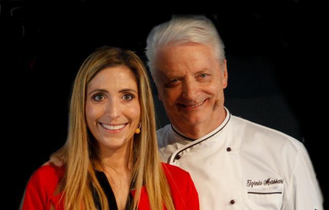Iginio Massari e Sabrina Dallagiovanna