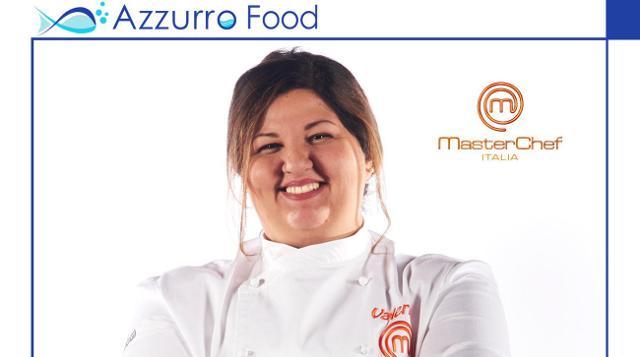 La vincitrice di MasterChef Italia Valeria Raciti ad Azzurro Food 2019