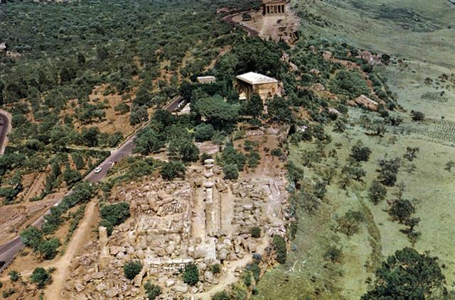 Villa Aurea dall'alto