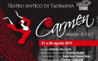 Al Teatro Antico di Taormina la ''Carmen'' di Bizet