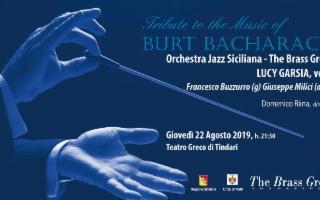 L'Orchestra Jazz Siciliana plays Burt Bacharach