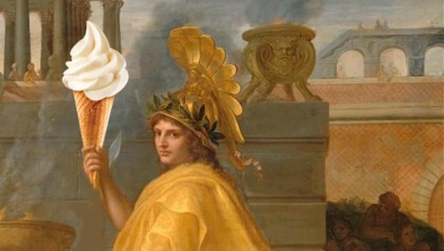 Alessandro Magno e il gelato...