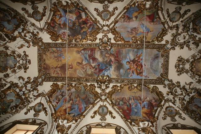 Affresco della navata principale