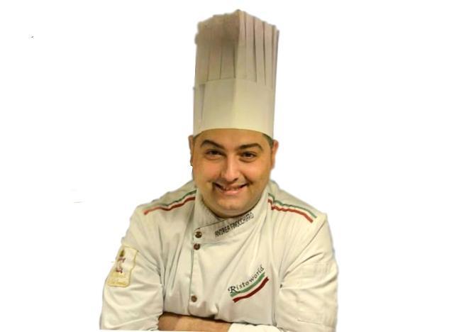 Lo chef Andrea Finocchiaro
