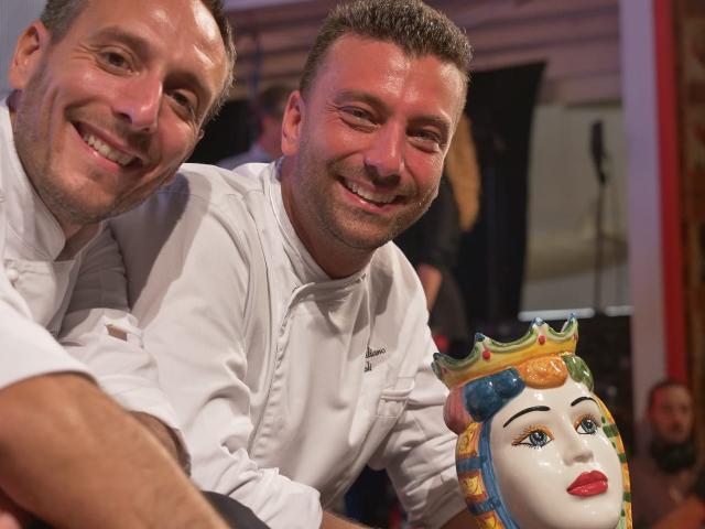 Massimo Poli ed Elio Genualdo