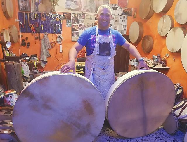 """Fabrizio Fazio  """"l'Artigiano del tamburo"""""""