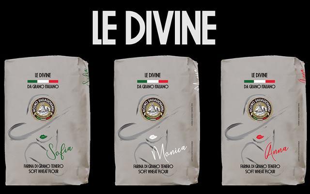Farine Le Divine di Molino Dallagiovanna
