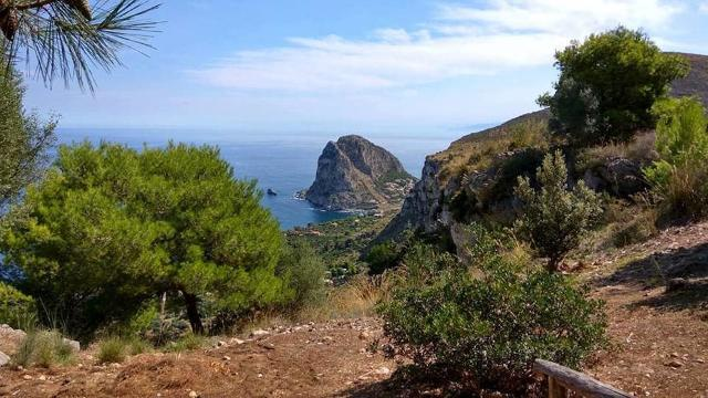 Panorama da Monte Catalfano