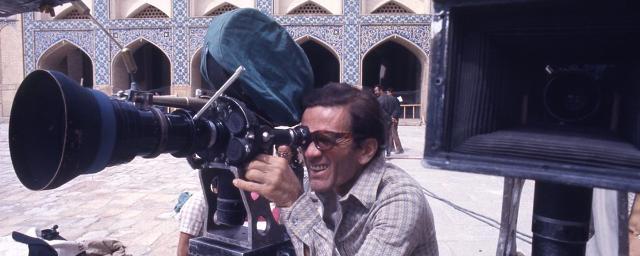 """Pier Paolo Pasolini nello Yemen durante le riprese del """"Fiore delle Mille e una Notte"""""""