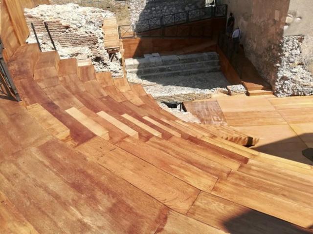 Il Teatro Odeon di Taormina dopo il restauro