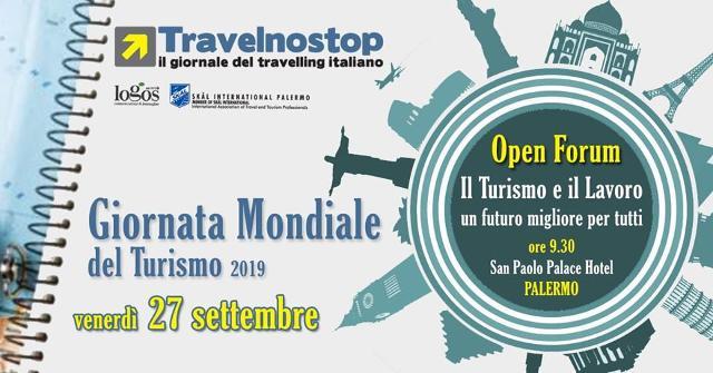 Giornata Mondiale del Turismo 2019 - Travelnostop