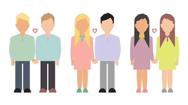 Si registra un aumento dei divorziati e un aumento delle unioni civili