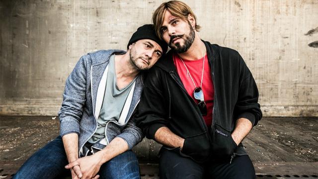 Vinicio Marchioni e Marco D'Amore