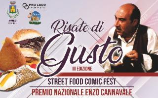 Risate di Gusto - Street Food Comic Fest e Premio Nazionale ''Enzo Cannavale''