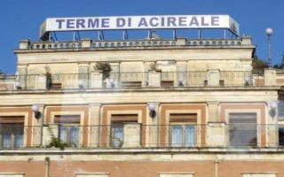 La Regione Siciliana acquista le terme di Acireale