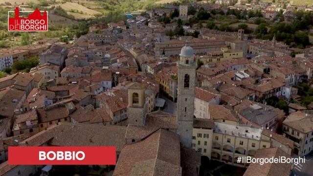 Bobbio, comune vincitore del titolo di Borgo dei borghi 2019