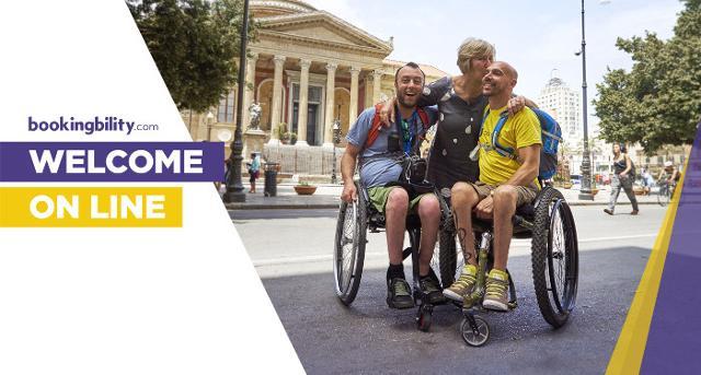 Bookingbility è un sito web per la ricerca e la prenotazione in tempo reale di strutture ricettive adatte a ospitare persone disabili e con esigenze speciali.