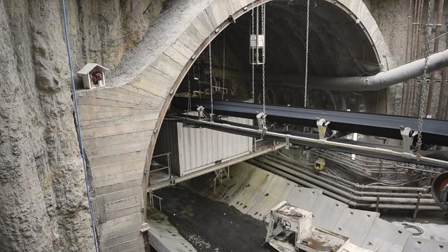"""Cantiere per la tratta metropolitana di Catania """"Stesicoro-Aeroporto"""""""