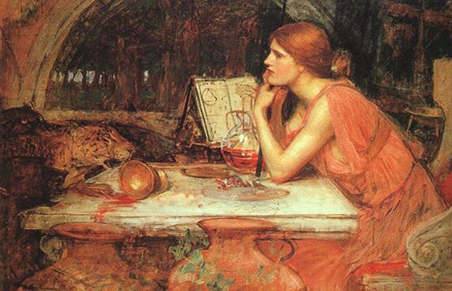 """Circe"" di John Williams Waterhouse"