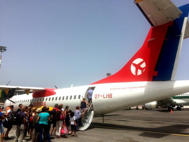 Aeromobile DAT a Pantelleria