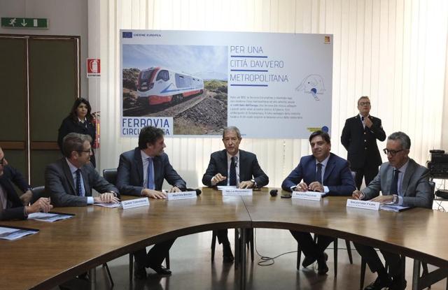 """La presentazione della campagna """"Ferrovia Circumetnea, per una città davvero metropolitana"""""""