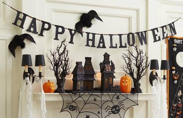 Ad Halloween l'atmosfera è tutto!