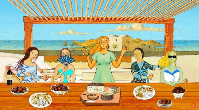Pranzo in riva al mare - Ben Ryé