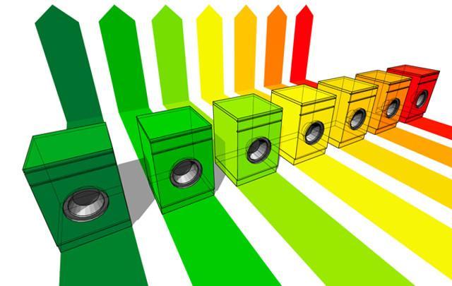 Le misure di progettazione ecocompatibile per lavatrici e lavastoviglie stabiliscono anche un uso massimo di acqua per ciclo...