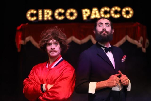 Frank Duro e Gustavo Leumann e il loro Circo Pacco