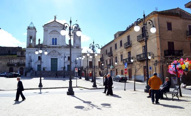 Piazza Duomo, Lercara Friddi - ph Letizia Tomasino