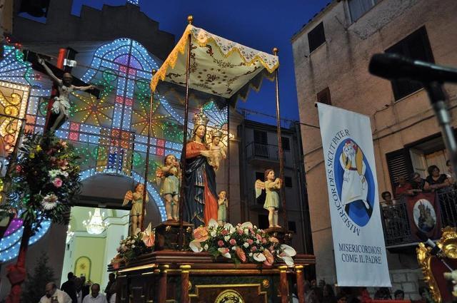 Festa della Madonna di Costantinopoli, Lercara Friddi