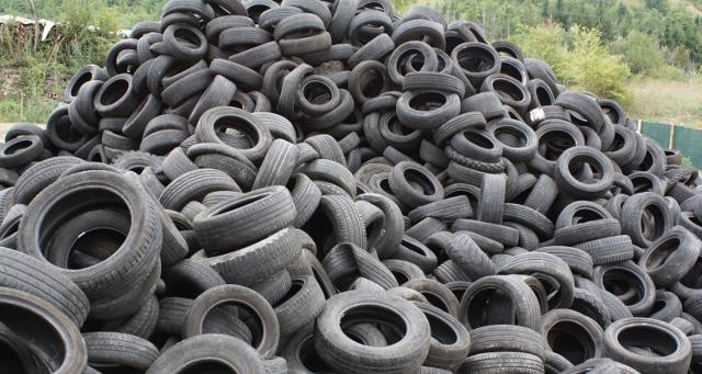 Il Comune di Misilmeri (PA) si libera di circa 500 kg di pneumatici fuori uso