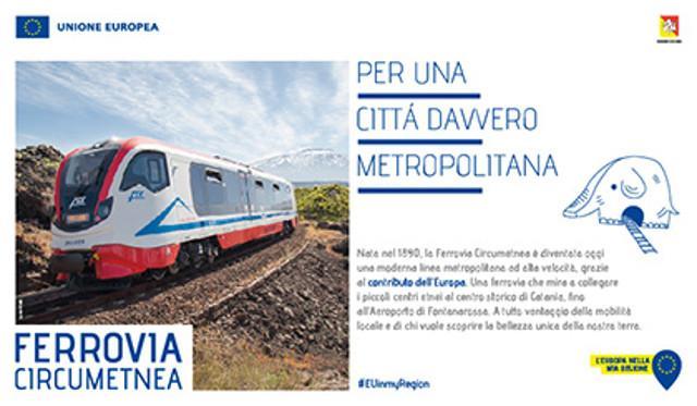 """Ferrovia Circumetnea, per una città davvero metropolitana"""