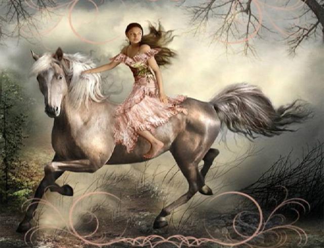 Rappresentazione fantastica di Elena Baele