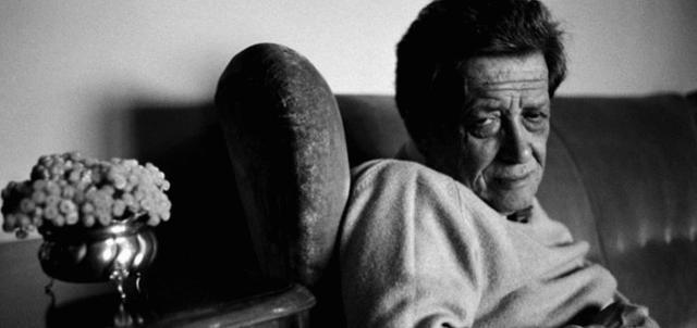 Lo scrittore Stefano D'Arrigo