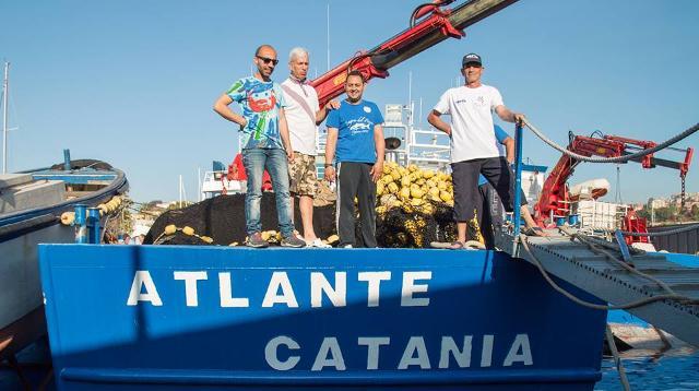 L'equipaggio dell'Atlante