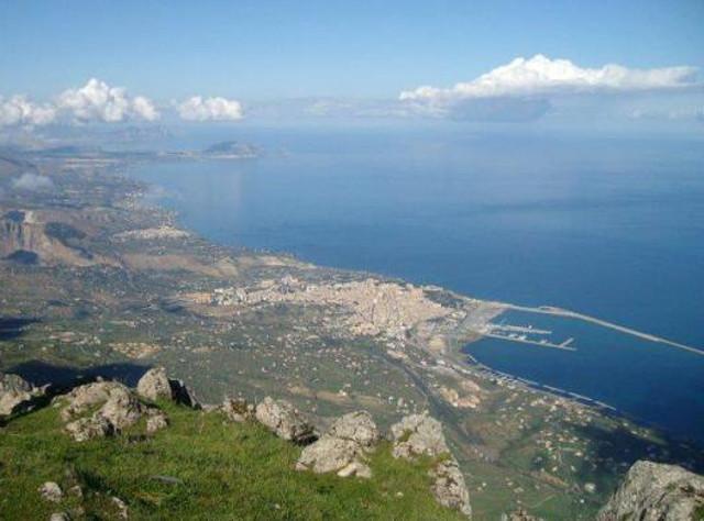 Panorama da Monte San Calogero