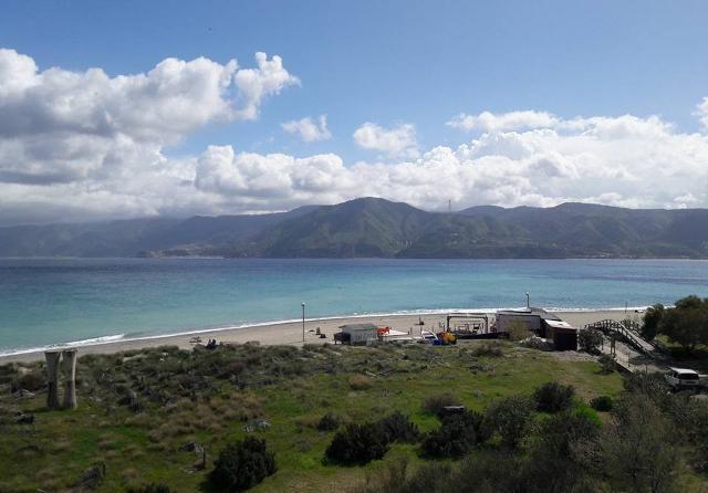 La vista che si gode dal Parco Horcynus Orca