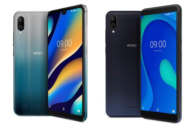 Wiko View 3 Lite Artic Bleen e Wiko Y80